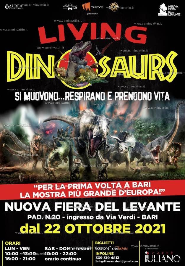 living dinosaurs bari fiera del levante