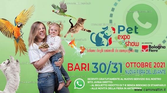 pet expo show bari 2021