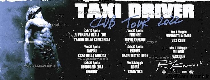 rkomi taxi driver club tour 2022